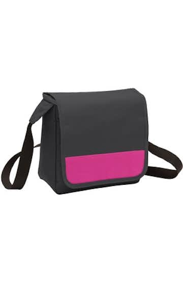 Port Authority BG753 Dark Charcoal / Tro Pink