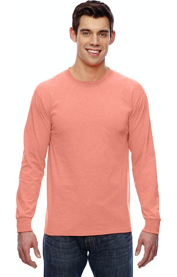 Fruit of the Loom 4930 Retro Heather Coral