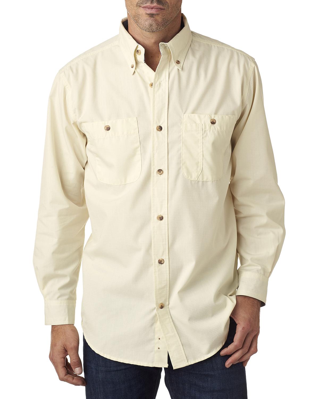 Backpacker Mens Wrinkle Free Rip Stop Shirt