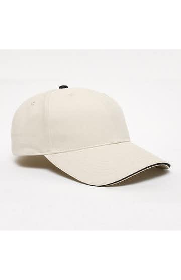 Pacific Headwear 0121PH Khaki/Navy