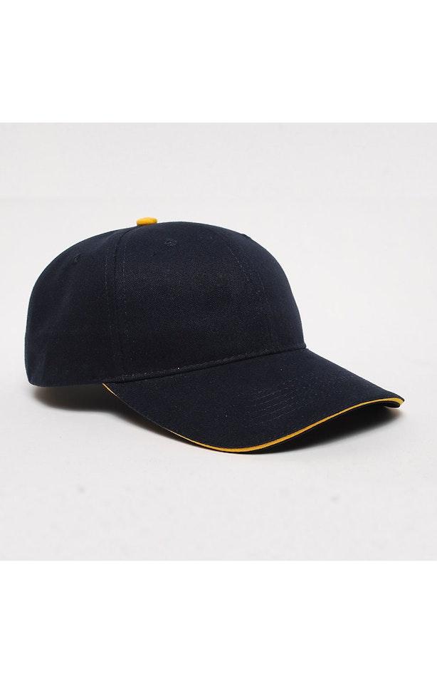 Pacific Headwear 0121PH Navy/Gold