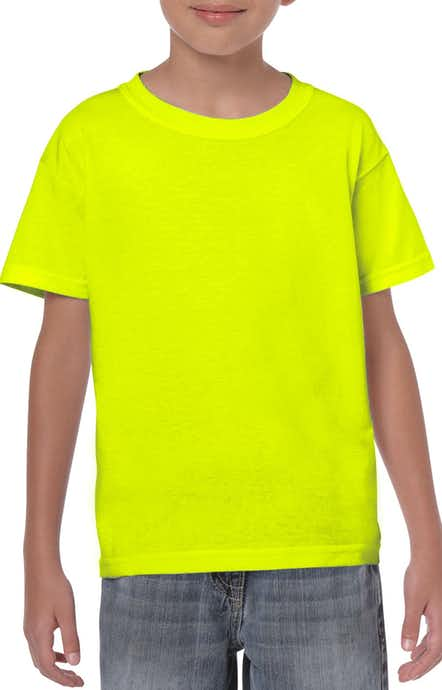 Gildan G500B High Viz Safety Green