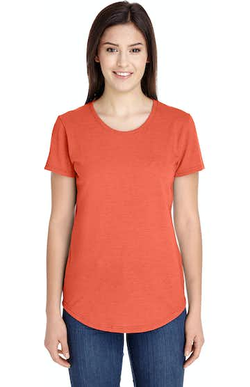 Anvil 6750L Heather Orange