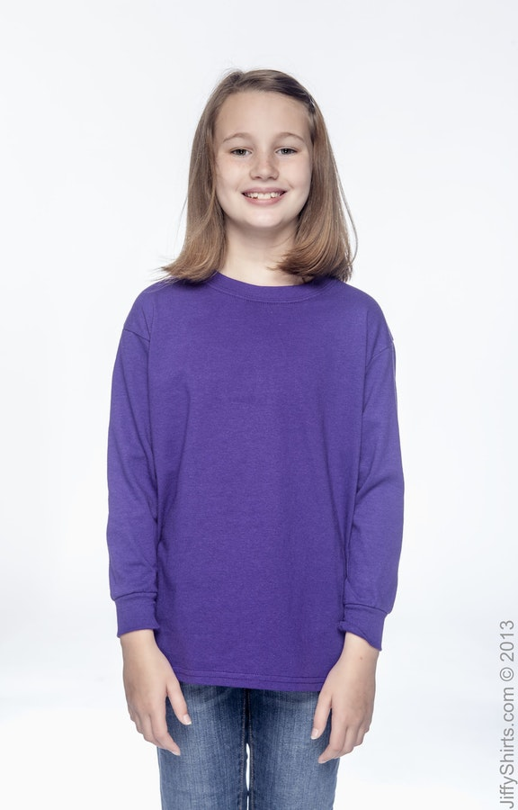Gildan G540B Purple