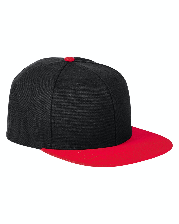 Big Accessories BA539 Black/ Red