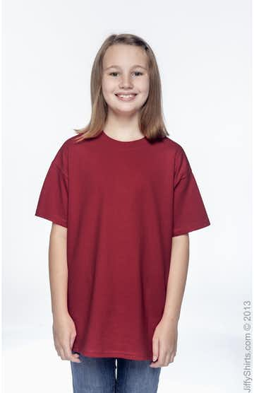 Hanes 54500 Deep Red