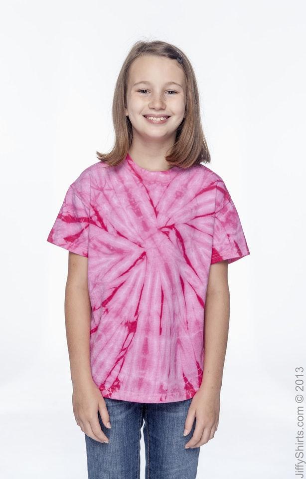 Tie-Dye CD101Y Spider Pink