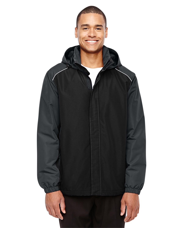 X-Large, Black Ash City Mens Climate Ripstop Jacket