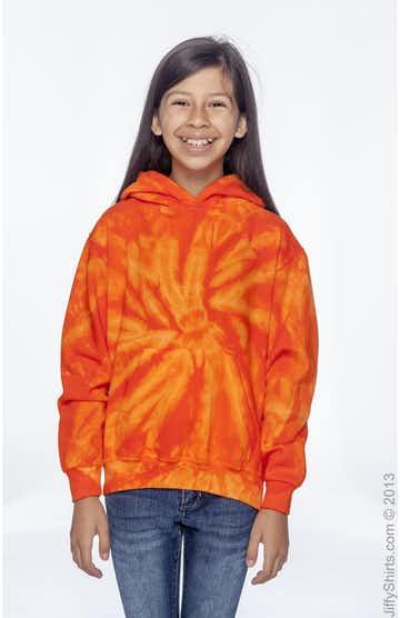 Tie-Dye CD877Y Spider Orange