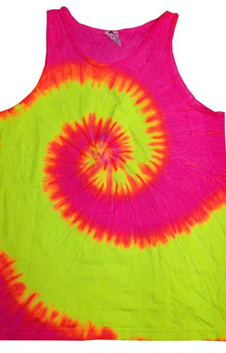 Tie-Dye CD3500 Fluorescent Swirl