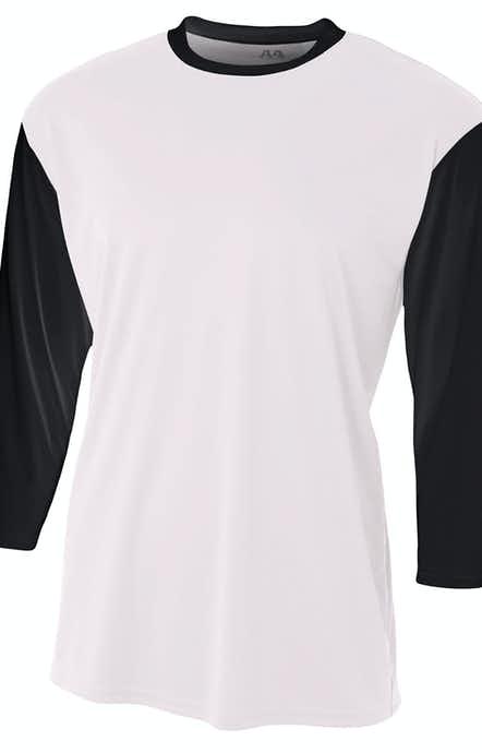 A4 N3294 White/Black