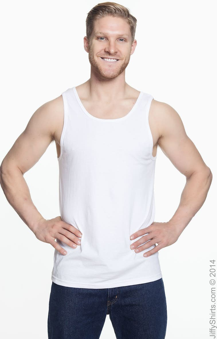 e1120259874f3b Fruit of the Loom 39TKR Adult 5 oz. HD Cotton™ Tank - JiffyShirts.com