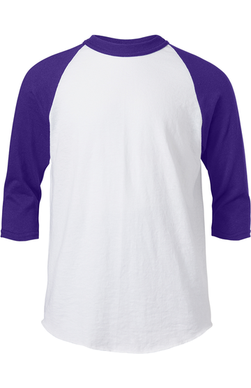 Soffe B209 WHITE/PURPLE