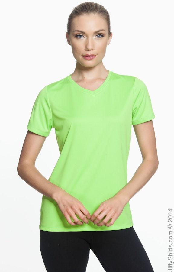 Hanes 483V Neon Lime