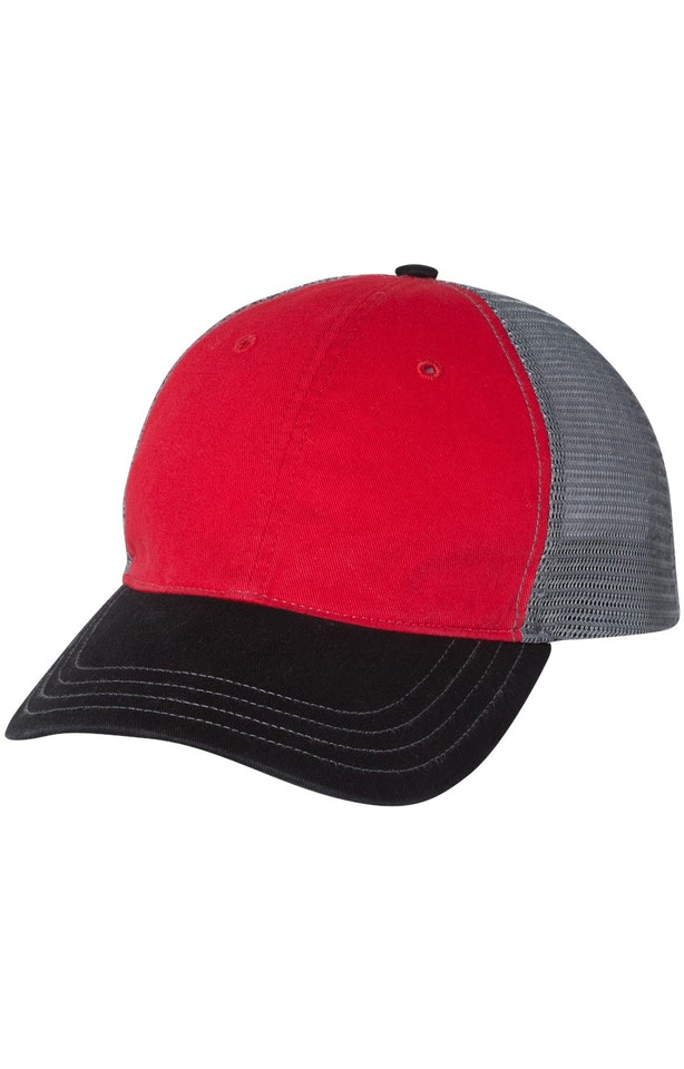 Richardson 111 Red/ Charcoal/ Black