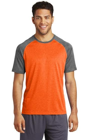 Sport-Tek ST362 Deep Orange He / Gh