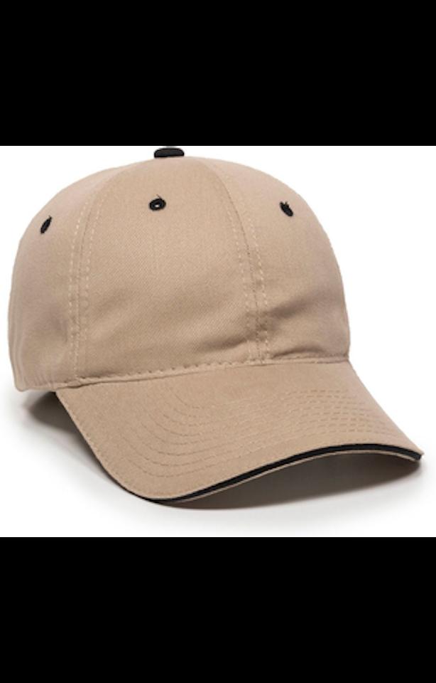Outdoor Cap GL-645 Khaki / Black