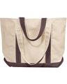 Liberty Bags 8871 Natural/Brown