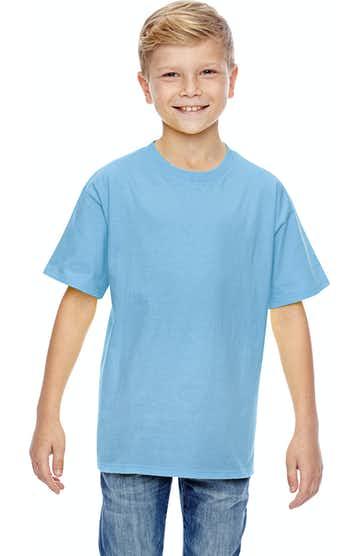 Hanes 498Y Light Blue