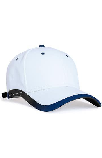 Pacific Headwear 0416PH White/Navy