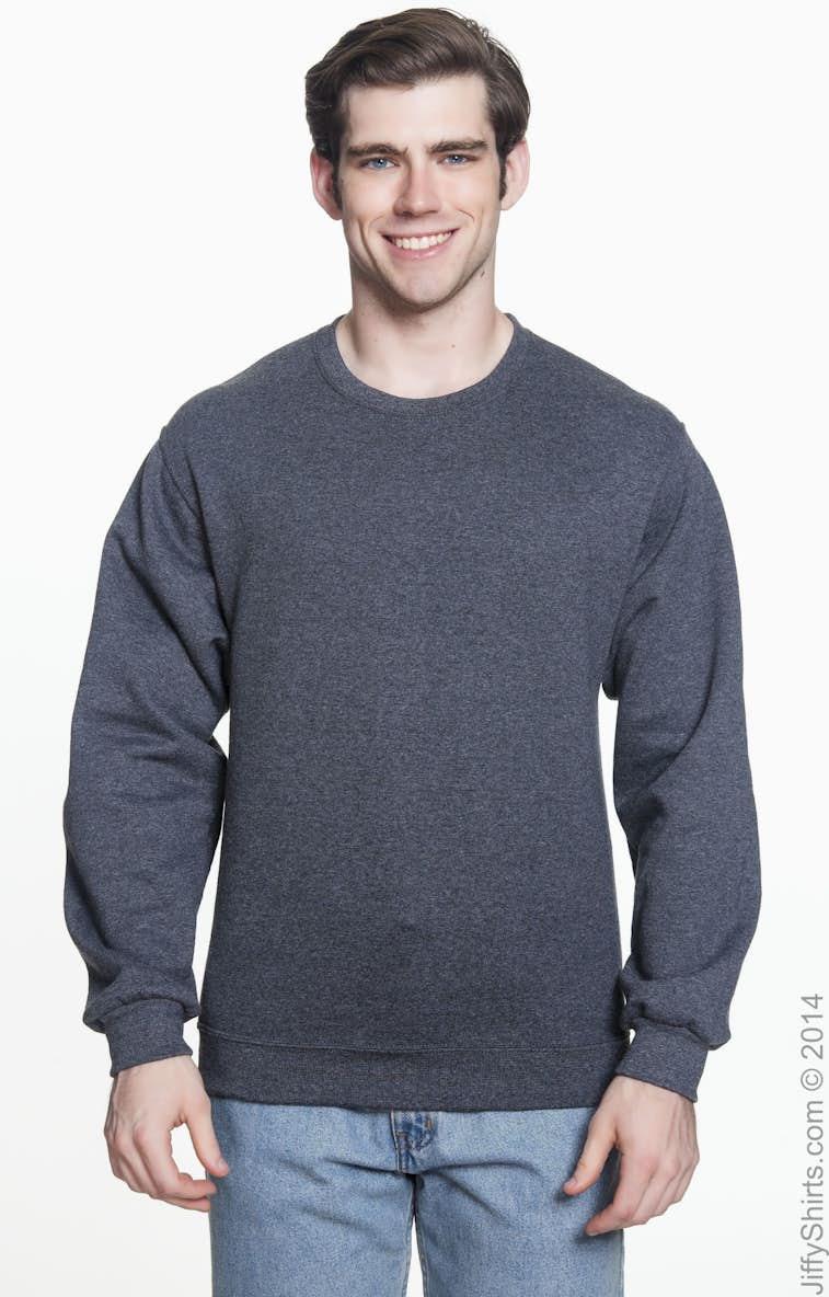 Jerzees 4662 Adult 9.5 oz. Super Sweats® NuBlend® Fleece Crew ... 208a1b021