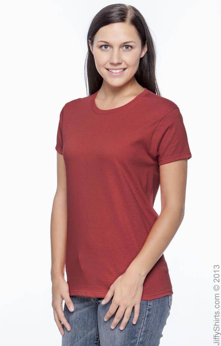 492faae0 Gildan G200L Ladies' Ultra Cotton® 6 oz. T-Shirt - JiffyShirts.com