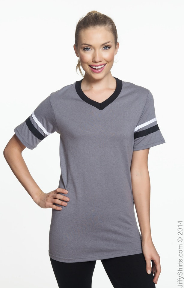 Augusta Sportswear 360 Graphite/Black/White