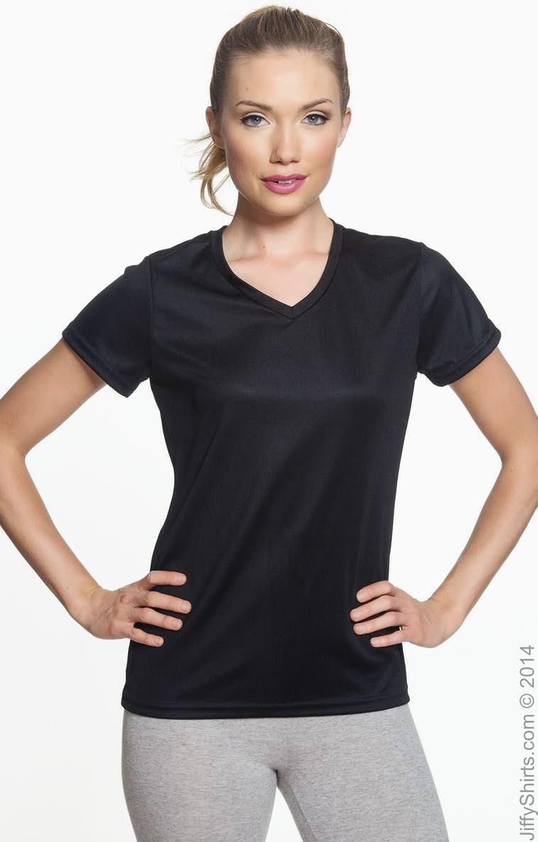 0594dd7caaa Augusta Sportswear 1790 Ladies  Wicking T-Shirt - JiffyShirts.com