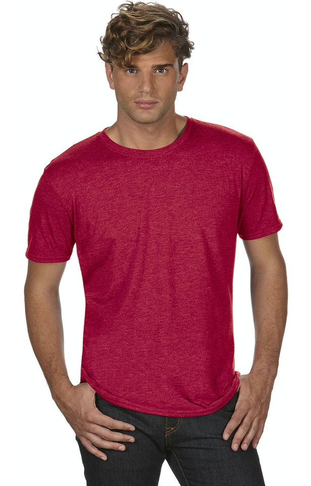 Anvil 6750 Heather Red