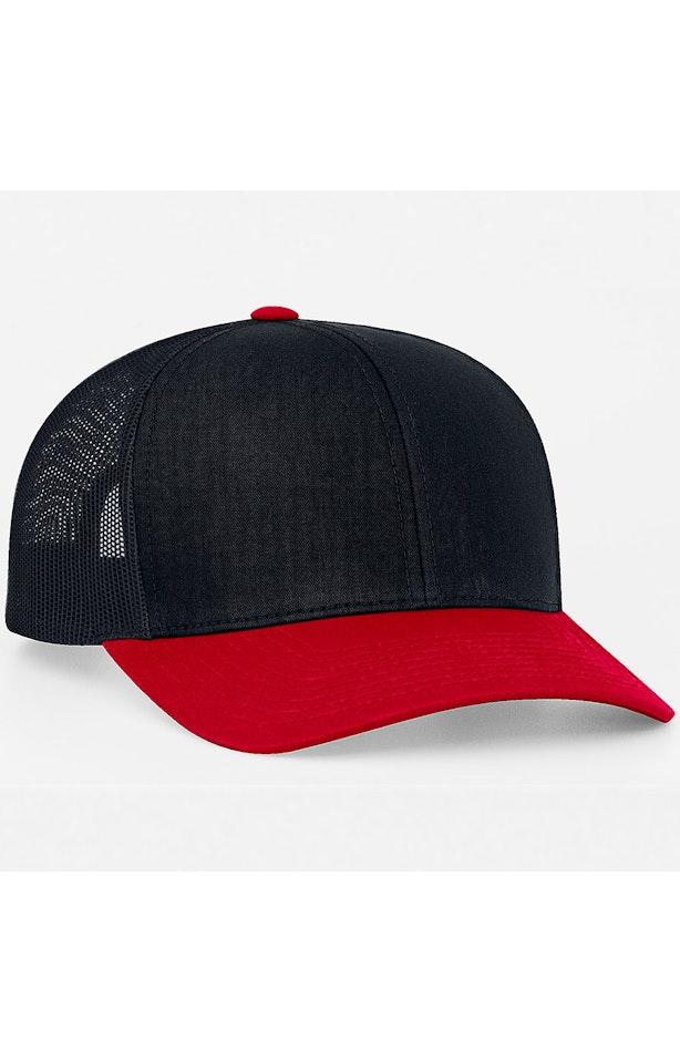 Pacific Headwear 0104PH Navy/Red