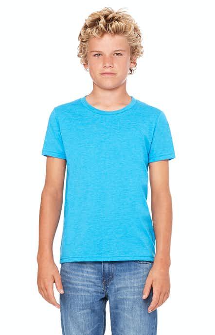 Bella+Canvas 3001Y Neon Blue