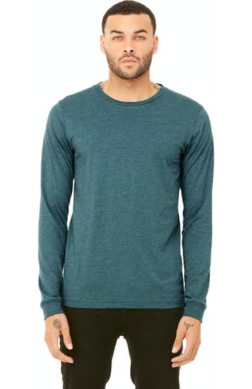 Bella + Canvas 3501 Heather Deep Teal