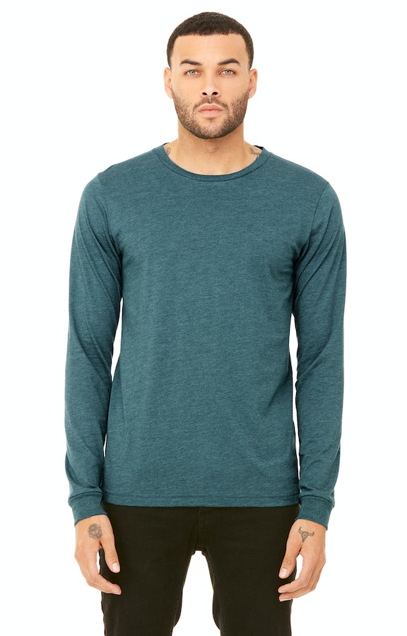 Bella+Canvas 3501 Heather Deep Teal