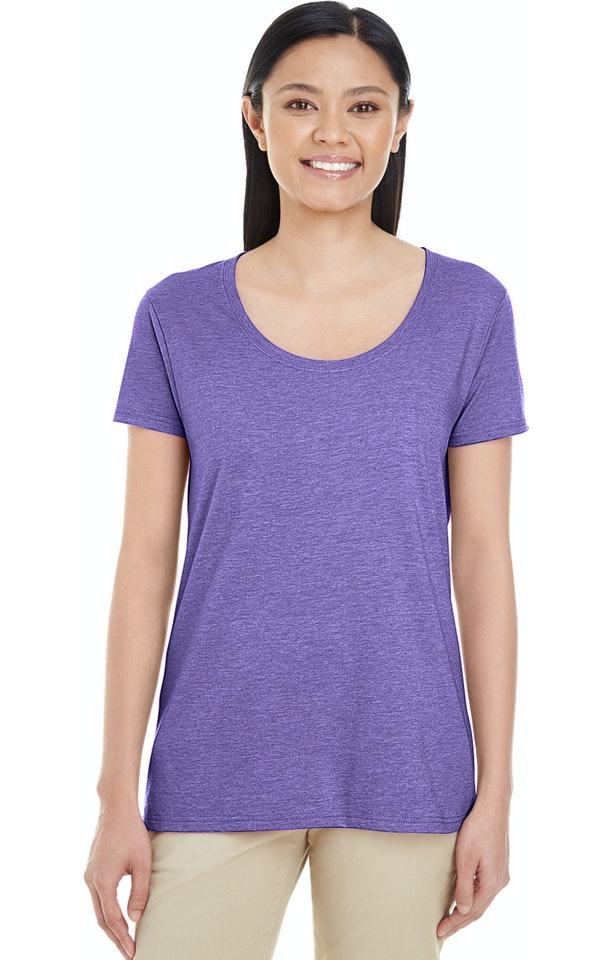 Gildan G6455L Heather Purple