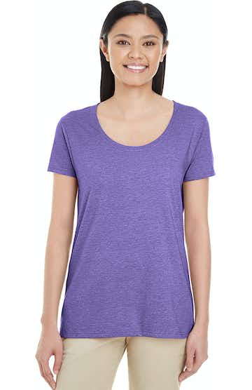 Gildan G6455L Heather Purple