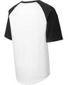 Sport-Tek T201 White / Black