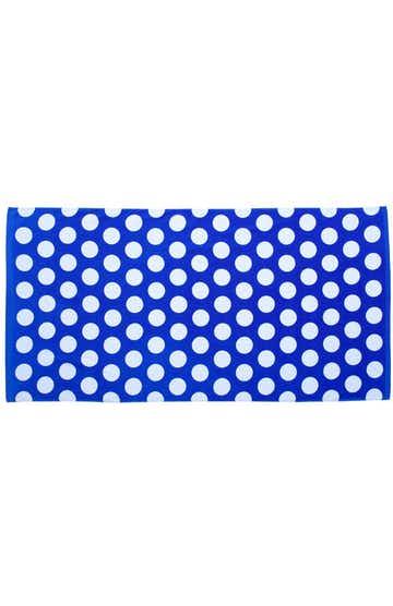Carmel Towel Company C3060 Royal Polka Dot