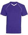 Augusta Sportswear 215 Purple / White