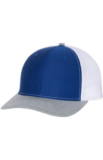 Richardson 112 Royal / White / Heather Grey