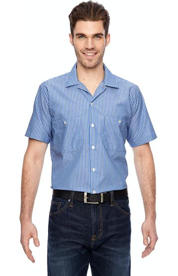 Dickies LS535 Blue/Wht Stripe