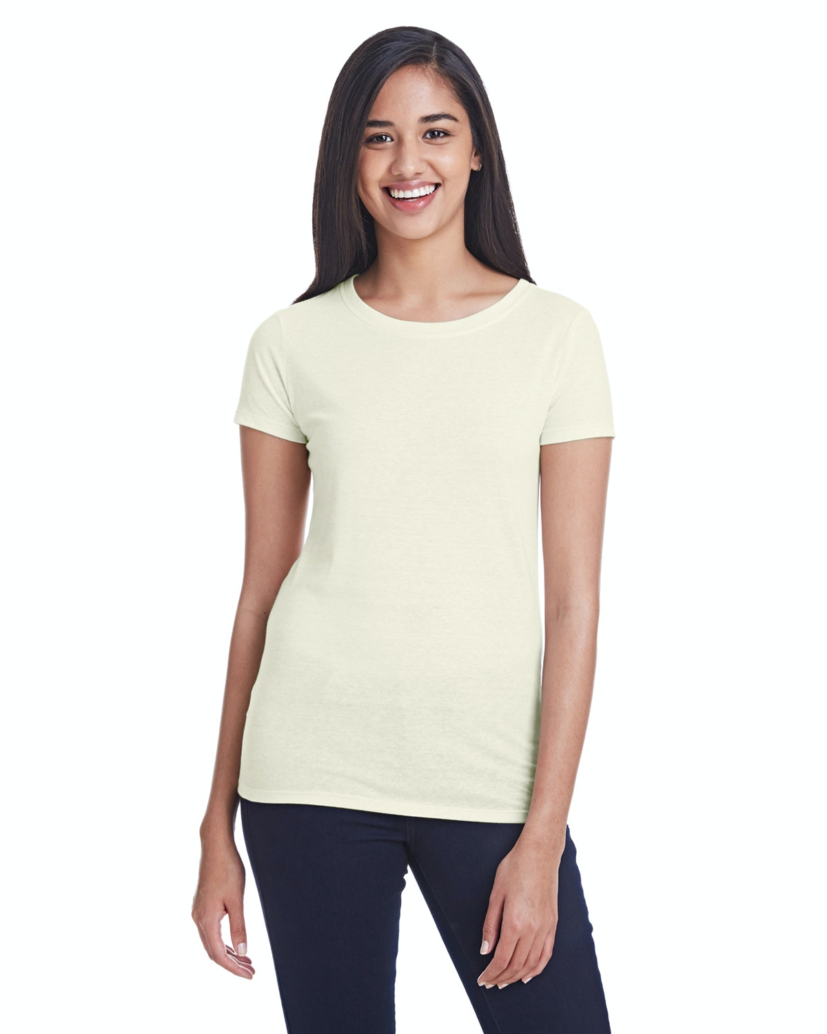 Threadfast Apparel 202A Cream Triblend