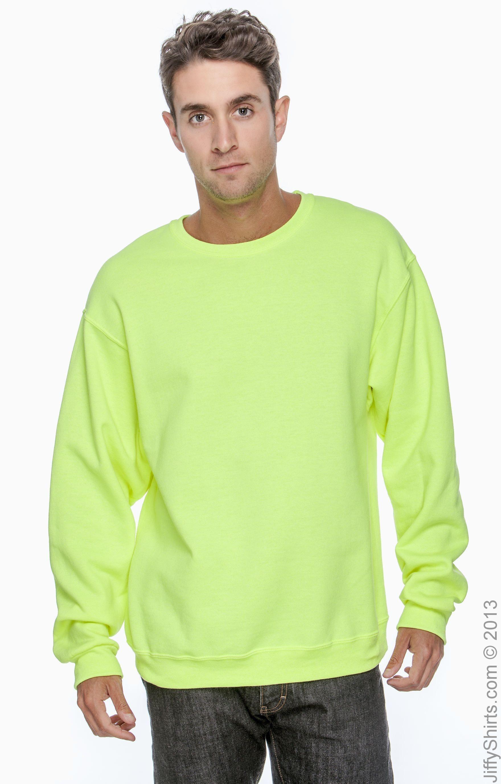 Jerzees 562 High Viz Safety Green