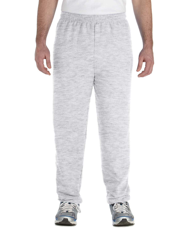 Pockets S-2XL Sweat Pants Black or Ash Gray Heavy Weight Open Bottom Gildan