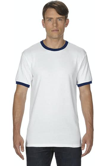 Gildan G860 White/Navy