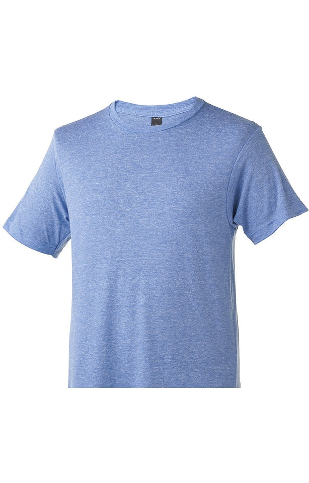 Tultex 0254TC Athletic Blue Tri Blend