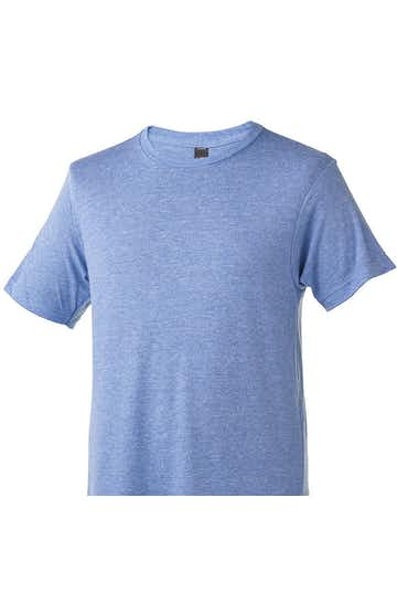 Tultex 0254TC Athletic Blue Tri Blend