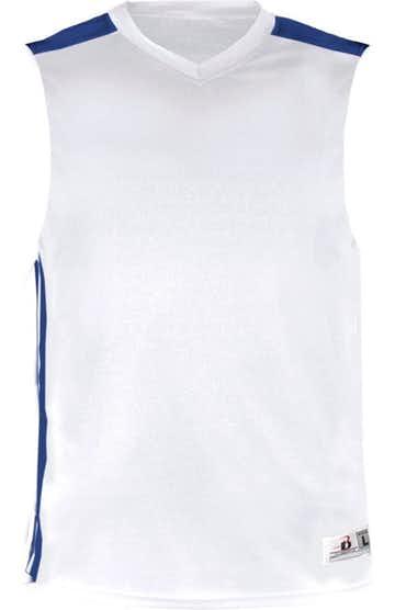 Badger 8948 White / Royal
