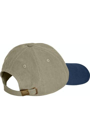 Comfort Colors 104 Khaki/ Navy