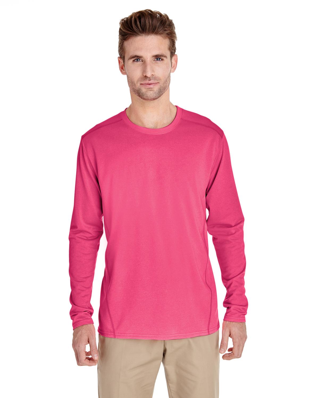 15 Gildan Heavy Cotton White Adult Long Sleeve T-Shirts Bulk Blank Lot 2XL /& 3XL