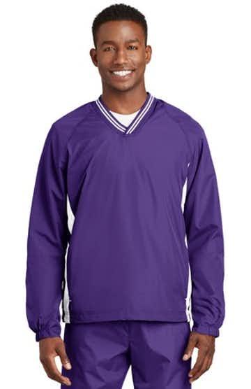 Sport-Tek JST62 Purple / White